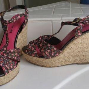 Wedge Heeled Shoes